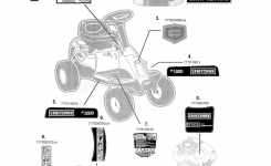 Craftsman Riding Mower Parts | Model 247290000 | Sears Partsdirect for Craftsman Riding Lawn Mower Parts Diagram