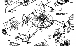 Craftsman Self-Propelled Lawn Mower Parts | Model 247370330 inside Craftsman Mower Deck Parts Diagram