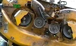 Cub Cadet 1042 Deck Belt Keeps Coming Off – Youtube inside Cub Cadet Lt1042 Parts Diagram