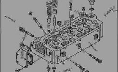 Cylinder Head [A20] – Tractor, Compact Utility John Deere 1050 pertaining to John Deere 1050 Parts Diagram