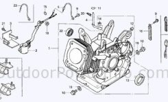 Descriptions, Photos And Diagrams Of Low Oil Shutdown Systems On intended for Honda Lawn Mower Engine Diagram