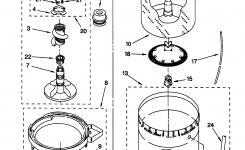 Diagram: Kenmore 70 Series Washer Parts Diagram with regard to Kenmore 70 Series Washer Parts Diagram