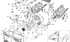 Discovery I Cooling & Heating – Rovers North – Classic Land Rover regarding 2003 Land Rover Discovery Engine Diagram