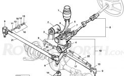 Discovery I Steering Column – Rovers North – Classic Land Rover Parts inside Land Rover Discovery Parts Diagram