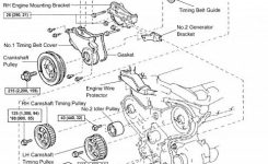 Diy Timing Belt Replacement, Toyota Mzfe Engine: Camry V6, Avalon intended for 1999 Lexus Es300 Engine Diagram