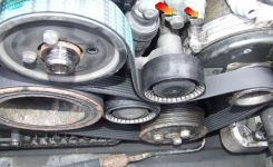 E38 740Il Belt Tensioner Bolt Threaded.. with regard to 2001 Bmw 740Il Engine Diagram