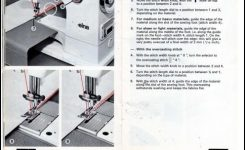 Elna Sp St Su Sewing Machine Instruction Manual – Houston Misc For regarding Elna Sewing Machine Parts Diagram