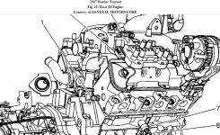 Engine Hot/ Ac Off: My 2007 Torrent Info Center Said While Driving inside 2006 Pontiac Torrent Engine Diagram