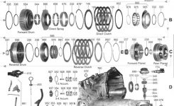 Everything You Need To Know About The Ford Cd4E Transmission within 2008 Ford Escape Parts Diagram
