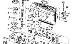 Evinrude / Johnson Outboard Parts Drawings in Johnson Outboard Motor Parts Diagram