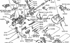 Exploded View For The 2001 Ford Taurus Tilt | Steering Column Services in 2001 Ford Taurus Parts Diagram
