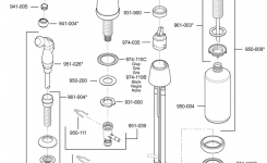 Faucets Price Pfister Pull Out Kitchen Faucet Repair Parts For in Price Pfister Faucet Parts Diagram