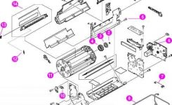 Figure 82 Assembly Location Diagram 2 Of – Hp Laserjet 4550 4500 Color for Hp Officejet 4500 Parts Diagram