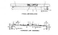 Fluorescent Lights : Outstanding Fluorescent Light Parts 105 regarding Fluorescent Light Fixture Parts Diagram