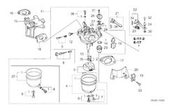 For Honda Gx390 Or Chinese Copy 13Hp Engines for Honda 5.5 Hp Engine Carburetor Diagram