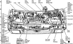 Ford 4 6 Engine Parts Diagram. Ford. Wiring Diagram For Cars pertaining to 2001 Ford Taurus Parts Diagram