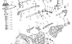 Ford 5 Speed Transmission for 1997 Ford F150 Parts Diagram