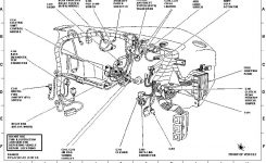 Ford Explorer Questions – Is There A Relay Under The Dash For The throughout 1999 Ford Explorer Engine Diagram