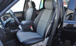 Ford Explorer Sporttrac 2006-2014 Leather-Like Custom Seat Cover intended for 2004 Ford Explorer Parts Diagram
