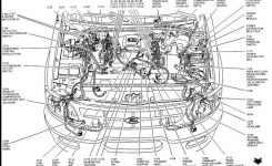 Ford F150 Engine Diagram 1989 | F150 Engine Component Diagram pertaining to 1986 Ford F150 Engine Diagram