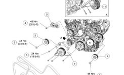 Ford F150 F250 Replace Serpentine Belt How To – Ford-Trucks with Ford 5.4 L Engine Diagram