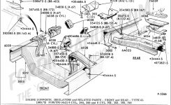 Ford Truck Technical Drawings And Schematics – Section E – Engine intended for Ford F150 Body Parts Diagram