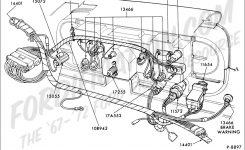 Ford Truck Technical Drawings And Schematics – Section I intended for 1986 Ford F150 Engine Diagram