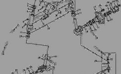 Front Axle (Manual Steering) [5] – Tractor, Compact Utility John intended for John Deere 770 Parts Diagram