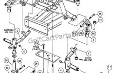 Front Suspension – Lower – Club Car Parts & Accessories with regard to Front End Suspension Parts Diagram