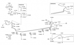 Fuel Line For 2001 Hyundai Accent | Hyundai Parts Deal with regard to 2002 Hyundai Accent Engine Diagram