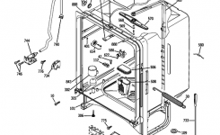 Ge Gld5600N10Bb Dishwasher Parts And Accessories At Partswarehouse regarding Ge Profile Dishwasher Parts Diagram