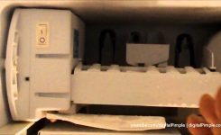 Ge Refrigerator – Ice Maker Not Making Ice – Easy Fix And Repair in Ge Monogram Ice Maker Parts Diagram