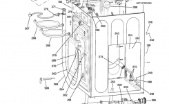Ge Washer Parts | Model Wbvh5100H0Ww | Sears Partsdirect with Ge Front Load Washer Parts Diagram