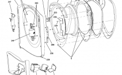 Ge Washer Parts | Model Wpdh8800J0Ww | Sears Partsdirect inside Ge Front Load Washer Parts Diagram