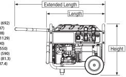 Generac Gp5500-Watt Portable Generator Carb | 5945 | Isc Online for Generac Portable Generator Parts Diagram
