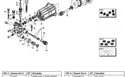 Generac Pressure Washer 66020 & 0066020 Replacement Parts, Pump intended for Pressure Washer Pump Parts Diagram