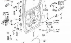 Genuine Kia Sedona Right Rear Outside Slide Door Handle Oem 0K53B with regard to 2005 Kia Sedona Parts Diagram