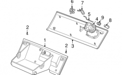Glove Box Parts For 2006 Saturn Vue with 2006 Saturn Vue Parts Diagram