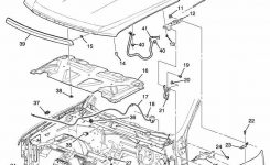 Gm 20763454 Hood Latch & Switch/sensor 2007-2014 Silverado Sierra inside 2005 Chevy Silverado Parts Diagram
