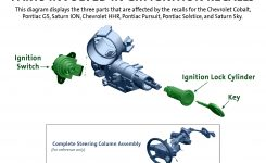 Gm To Replace Lock Cylinder During Ignition Switch Recall in Gm Parts Diagrams With Part Numbers