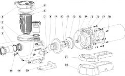 Hayward Tristar Pool Pump – Sp3207, Sp3210, Sp3215, Sp3220, Sp3230 with regard to Hayward Pool Pump Parts Diagram