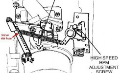 Help With Tecumseh Hs40 Linkage Setting | Lawnsite for Carburetor Diagram For Tecumseh Engine