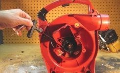 Homelite Leaf Blower Starter Pull Cord Replacement – Youtube throughout Homelite Leaf Blower Parts Diagram