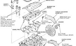 Honda Accord Engine Diagram | Diagrams: Engine Parts Layouts regarding 1990 Honda Civic Engine Diagram