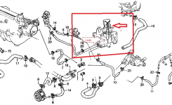 Honda Accord Questions – Why Would Coolant Start Leaking Out Of for 1990 Honda Civic Engine Diagram