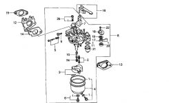 Honda Gx340 Parts , Quality Aftermarket Parts For Honda Gx Engines pertaining to Honda Small Engine Carburetor Diagram