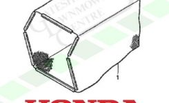 Honda Hrd 535 K1 Grass Bag Fabric regarding Honda Hrd 535 Parts Diagram