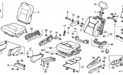 Honda Odyssey 5 Door Ex Ka 5At Front Seat (Side Airbag) (Driver Side) regarding Honda Odyssey 2003 Parts Diagram