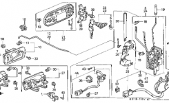 Honda Online Store  2001 Crv Front Door Locks Parts pertaining to 2001 Honda Crv Parts · 2004 Engine Diagram Ford Ka Engine Diagram Ford Wiring ...  sc 1 st  Automotive Parts Diagram Images : chevy 350 engine wiring diagram - yogabreezes.com