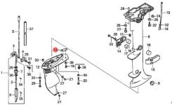 Honda Outboard Bf100 Wiring Diagram. 8 4 Installation Honda Bf100 intended for Honda Outboard Motor Parts Diagram